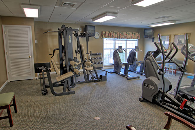 Brookdale Chandler Place Fitness Room