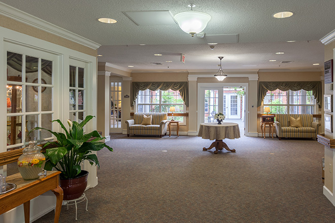Brookdale Chapel Hill Foyer
