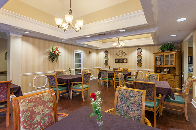 Brookdale Chapel Hill Dining Room