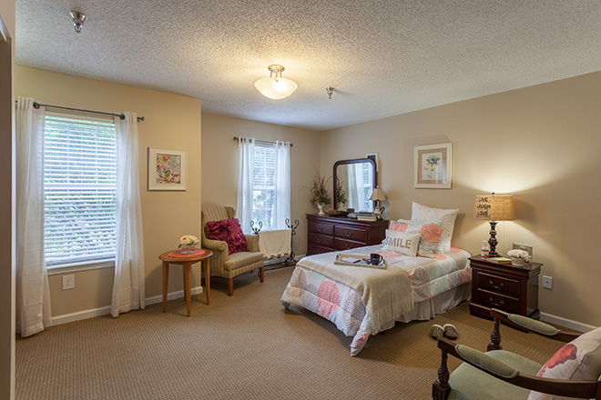 Brookdale Chapel Hill Bedroom