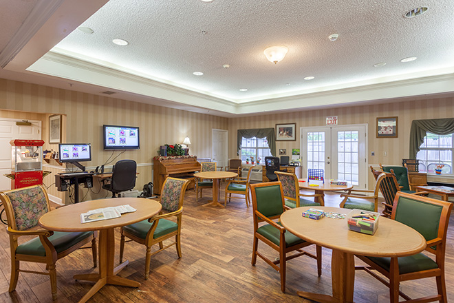 Brookdale Chapel Hill Activity Room