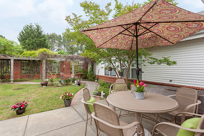 Brookdale Chapel Hill Patio