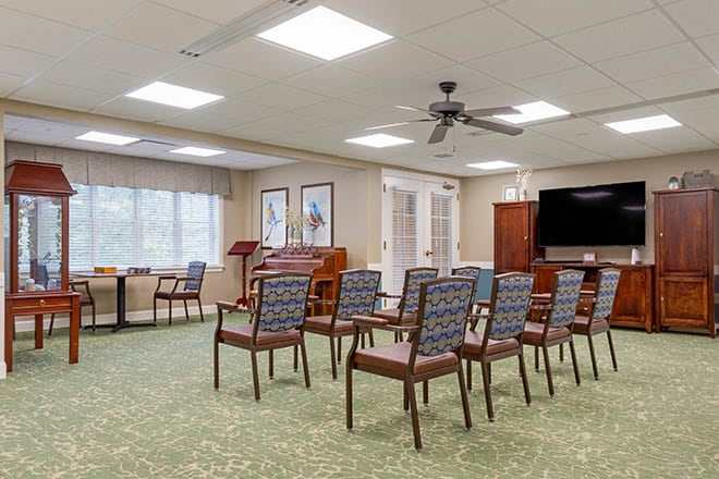 Brookdale Charlotte East Meeting Room