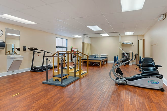 Brookdale Charlotte East Fitness Room