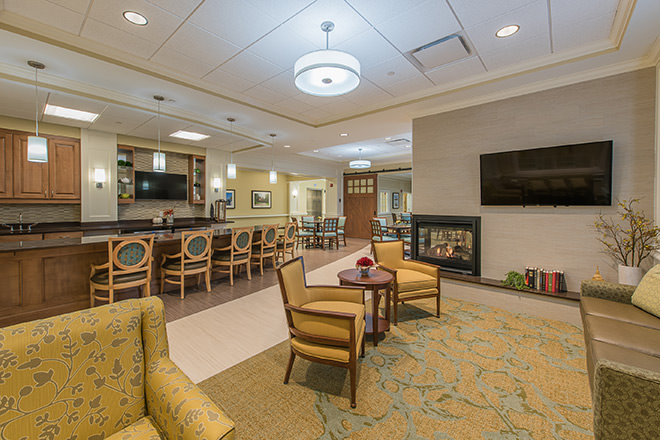 Brookdale Chatfield Assisted Living Cafe