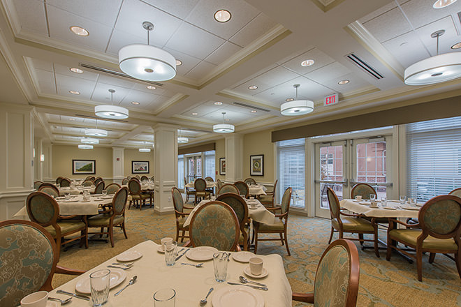 Brookdale Chatfield Assisted Living Dining Room