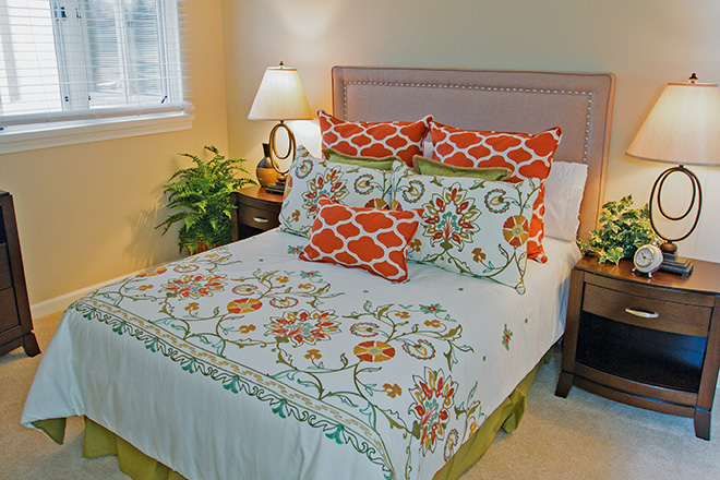 Brookdale Chatfield Independent Living Apartment Bedroom