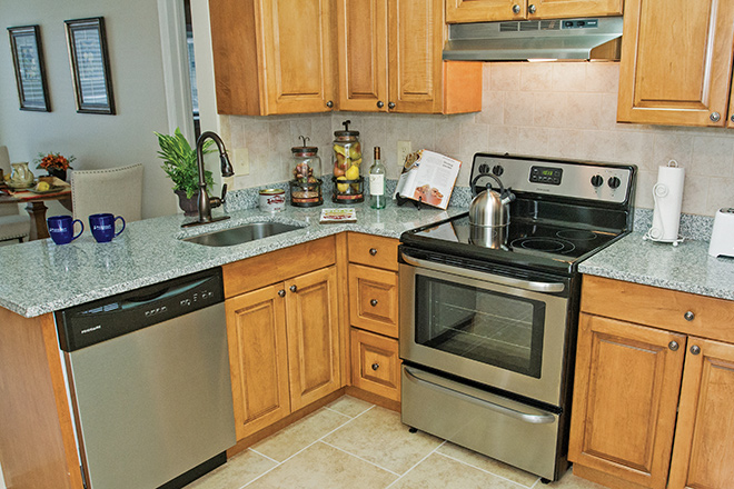Brookdale Chatfield Independent Living Apartment Kitchen