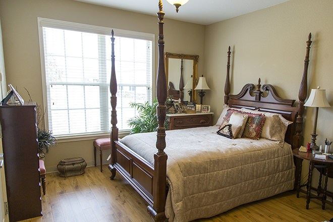 Brookdale Chenal Heights Bedroom