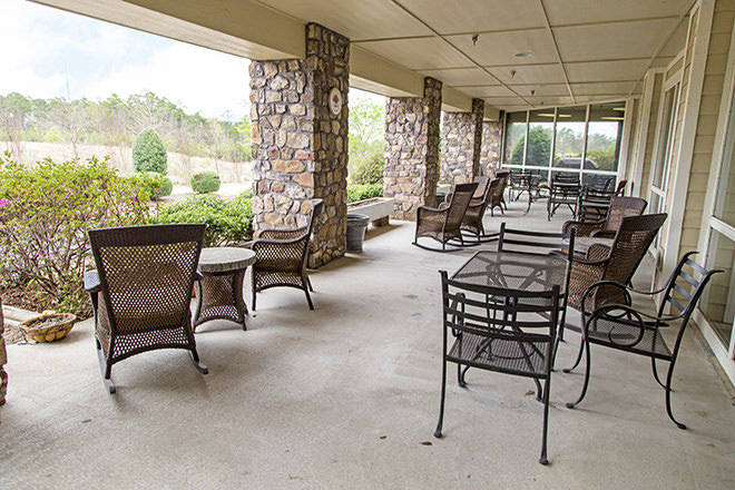 Brookdale Chenal Heights Patio