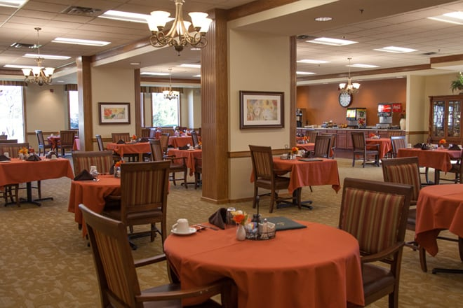 Brookdale Chestnut Hill Dining Room