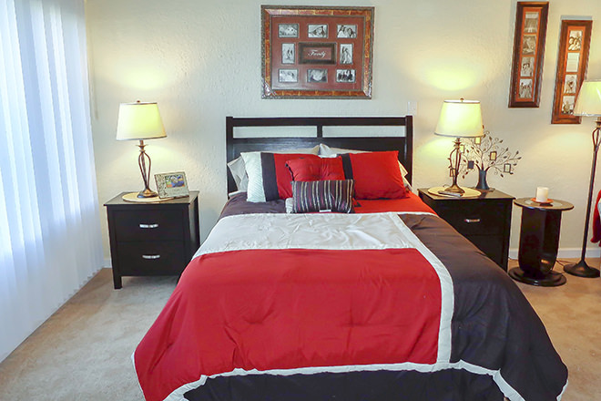 Brookdale Clairemont Bedroom