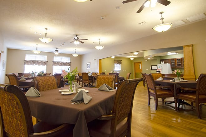 Brookdale Claremore  Dining Room