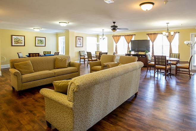 Brookdale Clear Lake Common Room