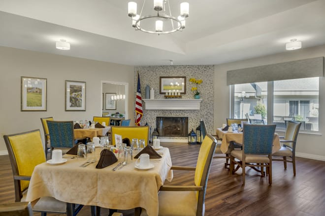 Brookdale Cleveland Dining Room