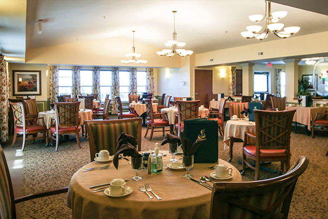 Brookdale Clinton Dining Room