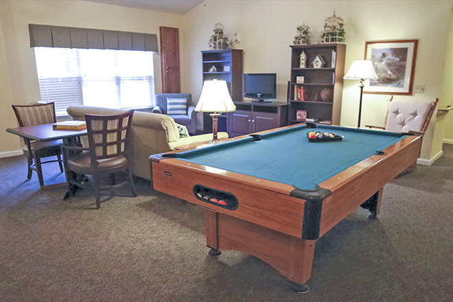 Brookdale Clinton  Billiards