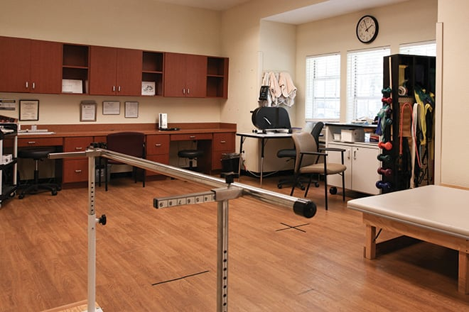 Brookdale Club Hill Therapy Room