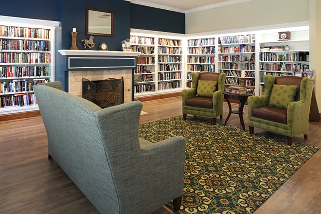 Brookdale Club Hill  Library