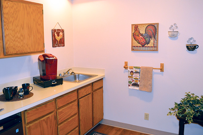 Nice Separation Between Kitchen And Living Room Photo - Living Room ...
