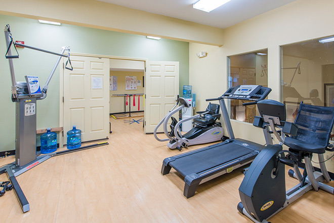 Brookdale College Parkway Fitness Room
