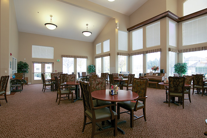 Brookdale College Place Dining Room