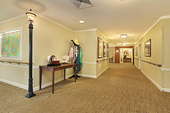 Brookdale College Square Hallway