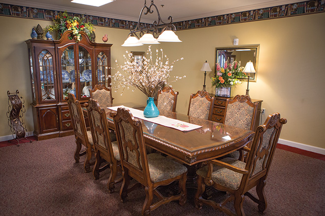 Brookdale Collin Oaks Private Dining