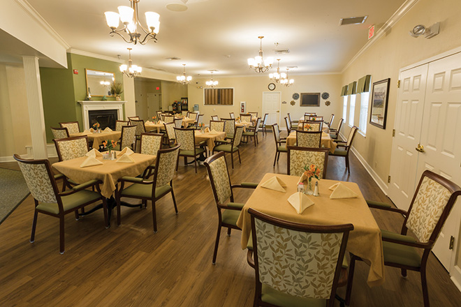 Brookdale Colonial Heights Dining Room