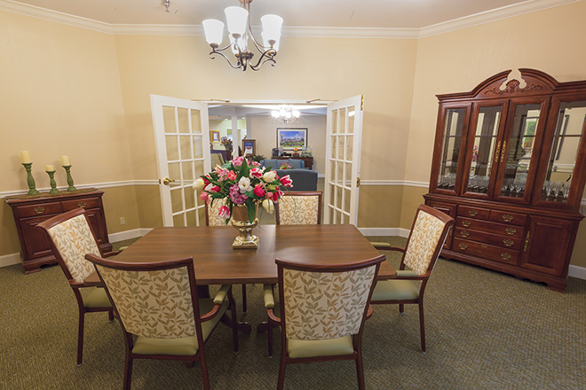 Brookdale Colonial Heights Private Dining Room