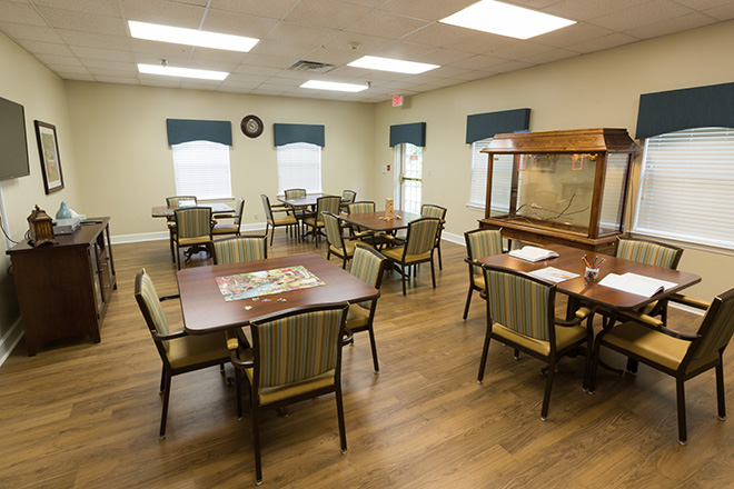 Brookdale Colonial Heights Activity Room