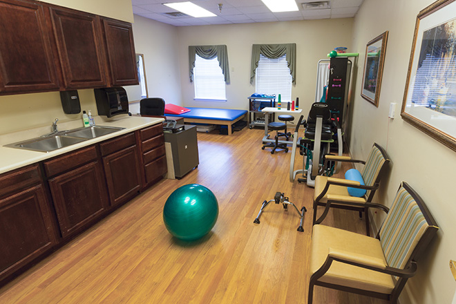 Brookdale Colonial Heights Therapy Room