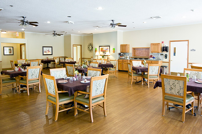 Assisted living in columbia sc for S s columbia dining room