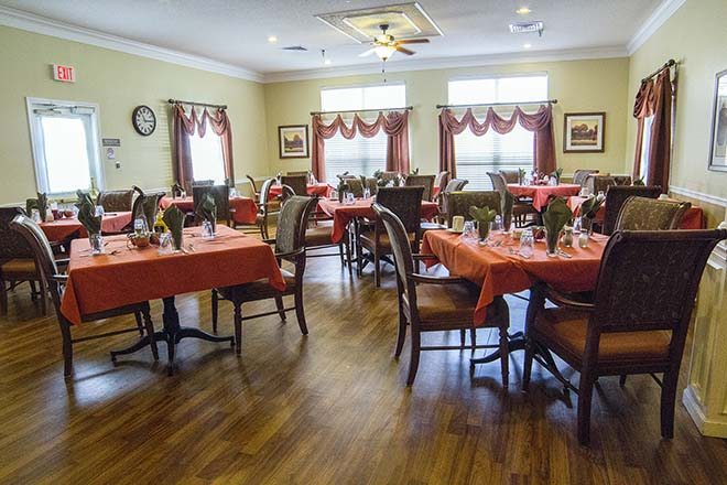 Brookdale Columbia Dining Room