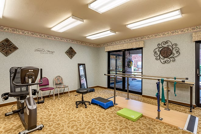 Brookdale Conway Fitness Room