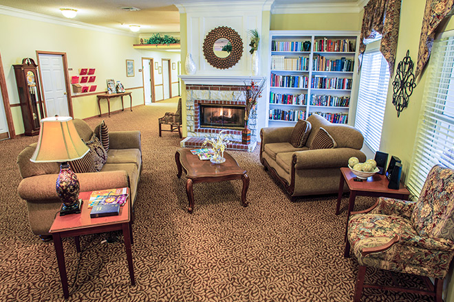 Brookdale Conway Community Living Room