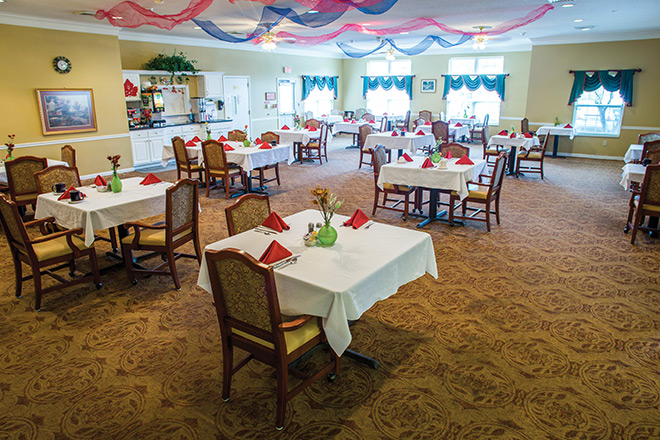 Brookdale Conway Dining Room