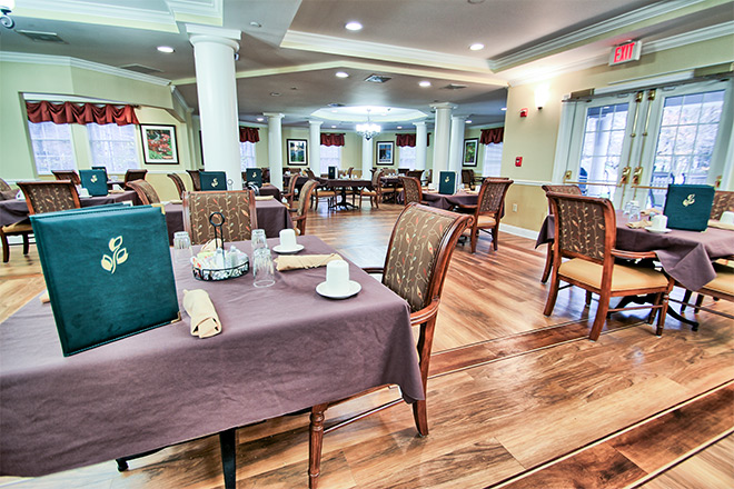 Brookdale Cotswold Dining Room
