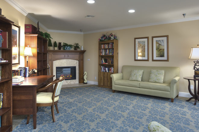 Brookdale Countryside Community Living Room
