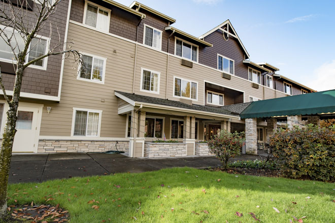 Brookdale Courtyard Puyallup Senior Living In Puyallup