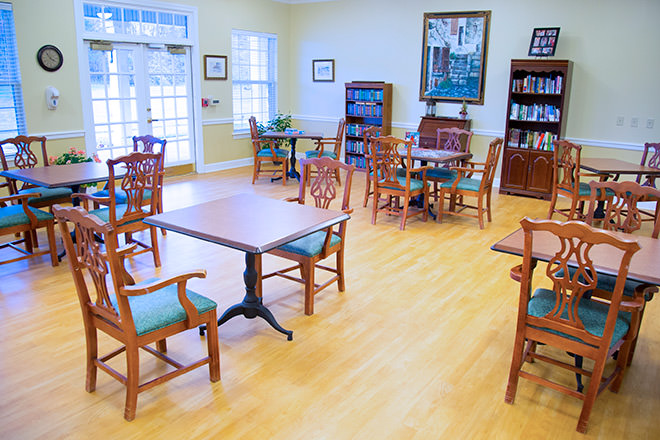 Brookdale Danville Piedmont Activity Room