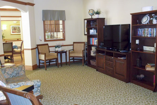 Brookdale Davison TV Room
