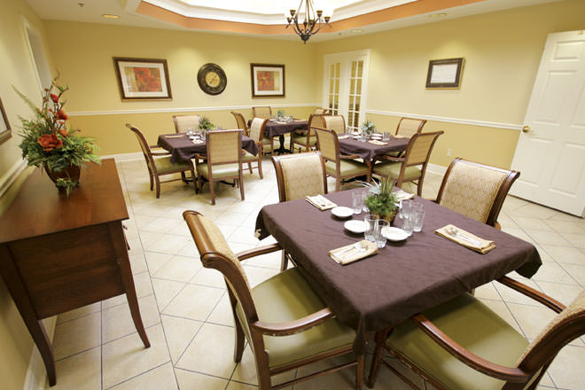 Brookdale Delta Dining Room