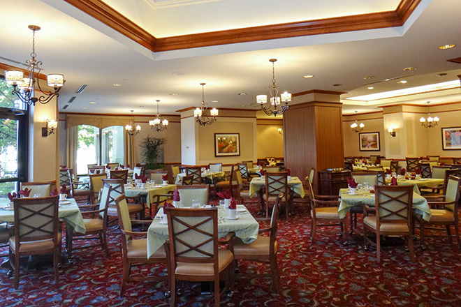 Brookdale Des Plaines Dining Room