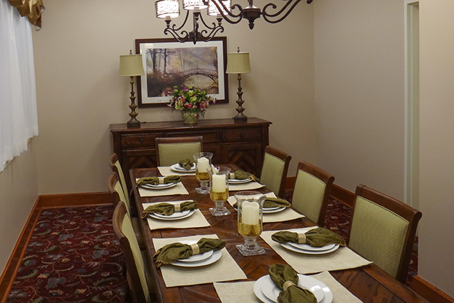 Brookdale Des Plaines Private Dining