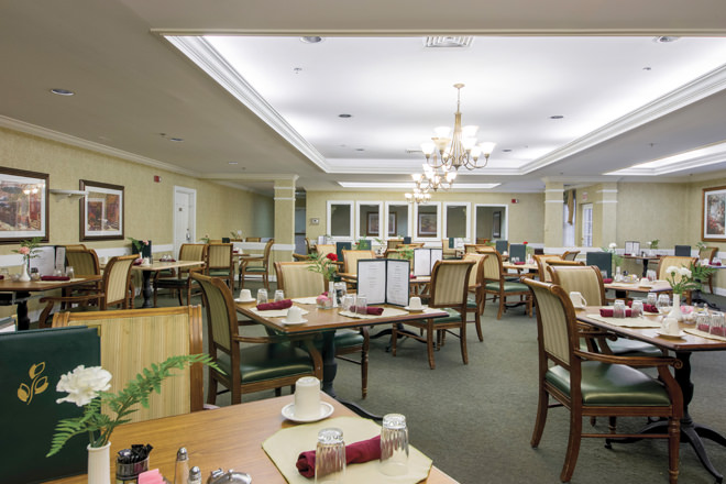 Brookdale Durham Dining Room