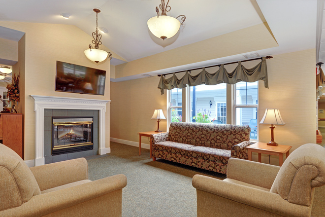Brookdale Eden Prairie Living Room