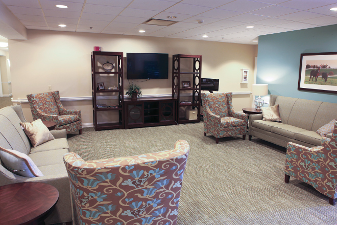 Brookdale Edgewood TV Room