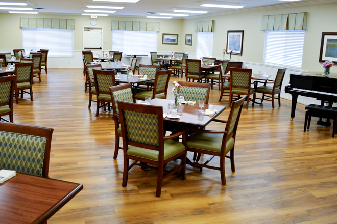 Brookdale Fairhaven Dining Room