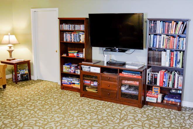 Brookdale Fairhaven TV Room